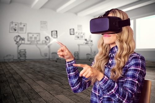 Virtual reality can be a new way to visualize data.