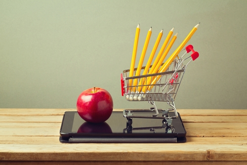 Information systems can help retailers recognize demand for school supplies.